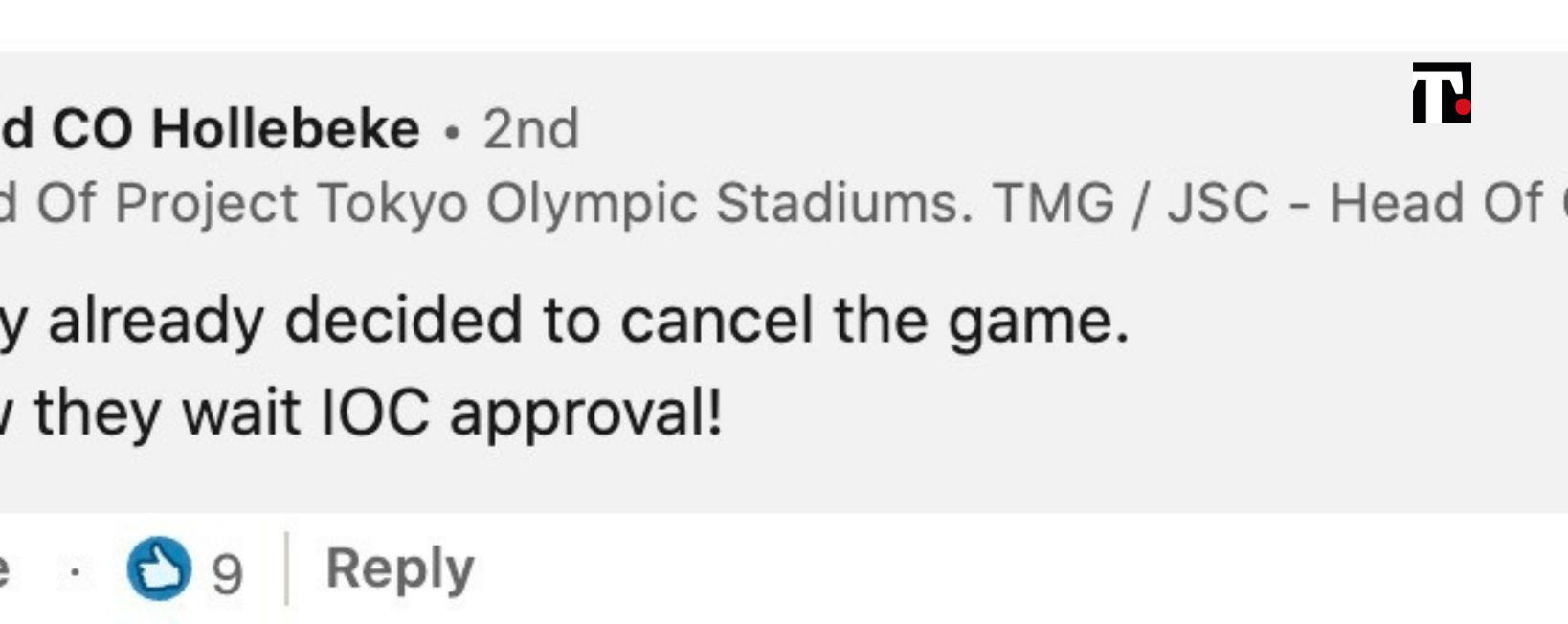 olimpiadi tokyo annullate linkedin