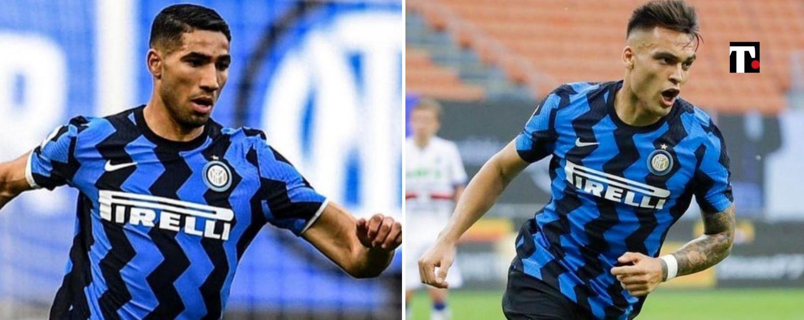 Mercato Inter Achraf Hakimi Lautaro Martinez