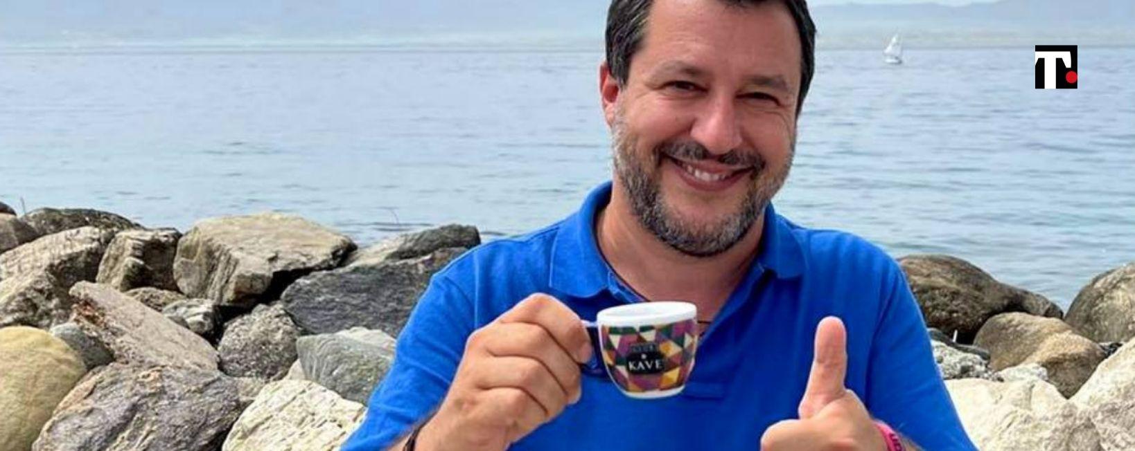 elezioni Milano 2021 Matteo Salvini