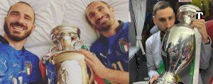 Italia campione europa bonucci chiellini donnarumma