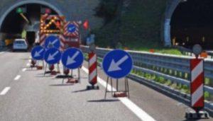cantieri autostrade mappa