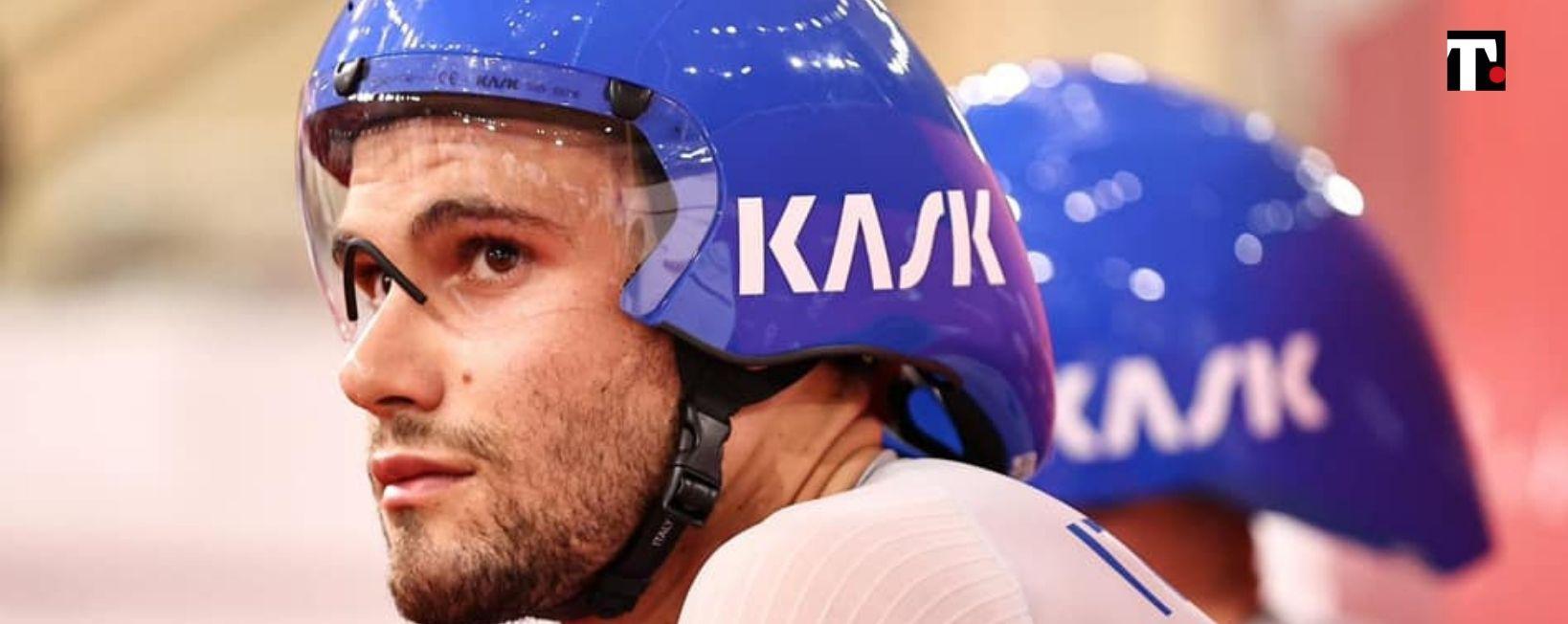 Filippo Ganna oro alle Olimpiadi 2021