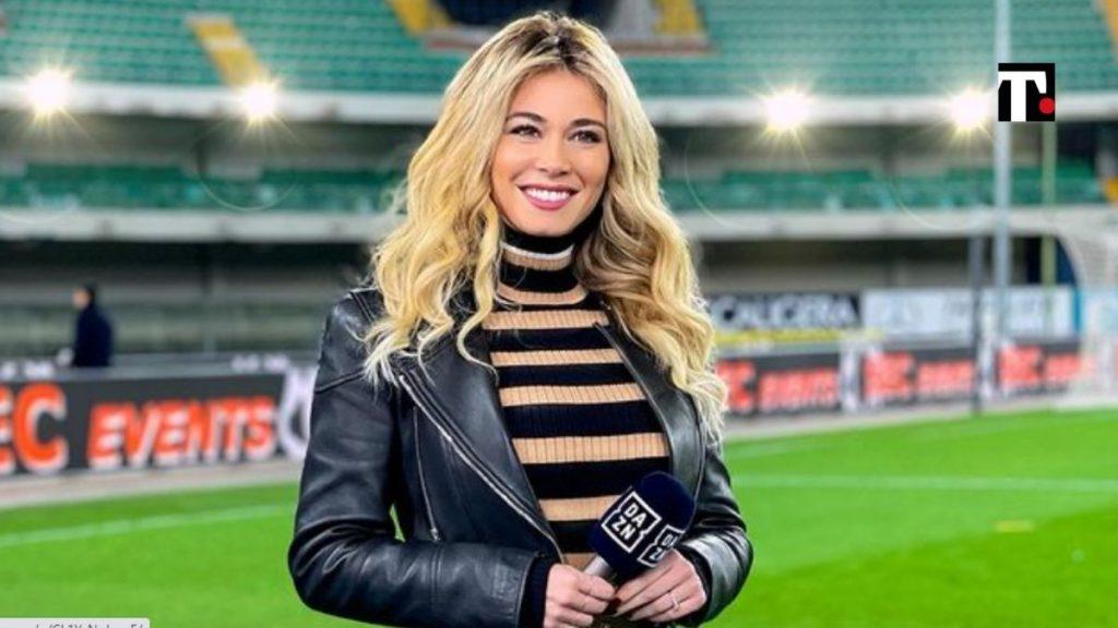 Diletta Leotta gaffe