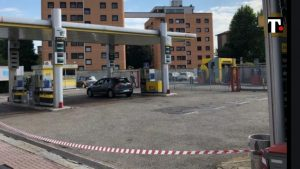 benzina mafia Buccinasco