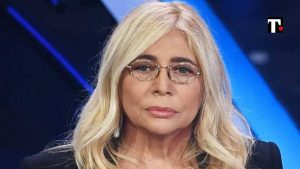 Mara Venier lesione al nervo facciale