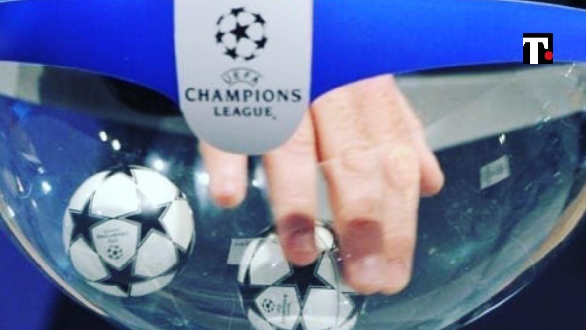 sorteggio champions league 2021 22