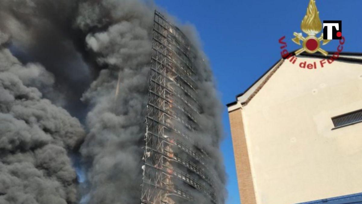 incendio a Milano