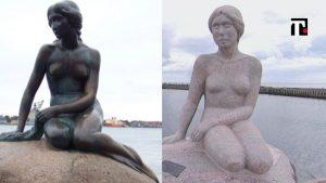 statue sirenetta danimarca