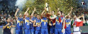 pallavolo maschile campioni d'europa