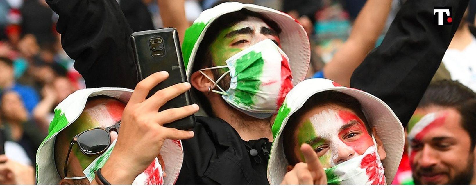 mascherine allo stadio