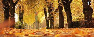 quando inizia l'autunno