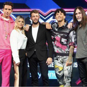 Il nuovo conduttore e i giudici di X Factor