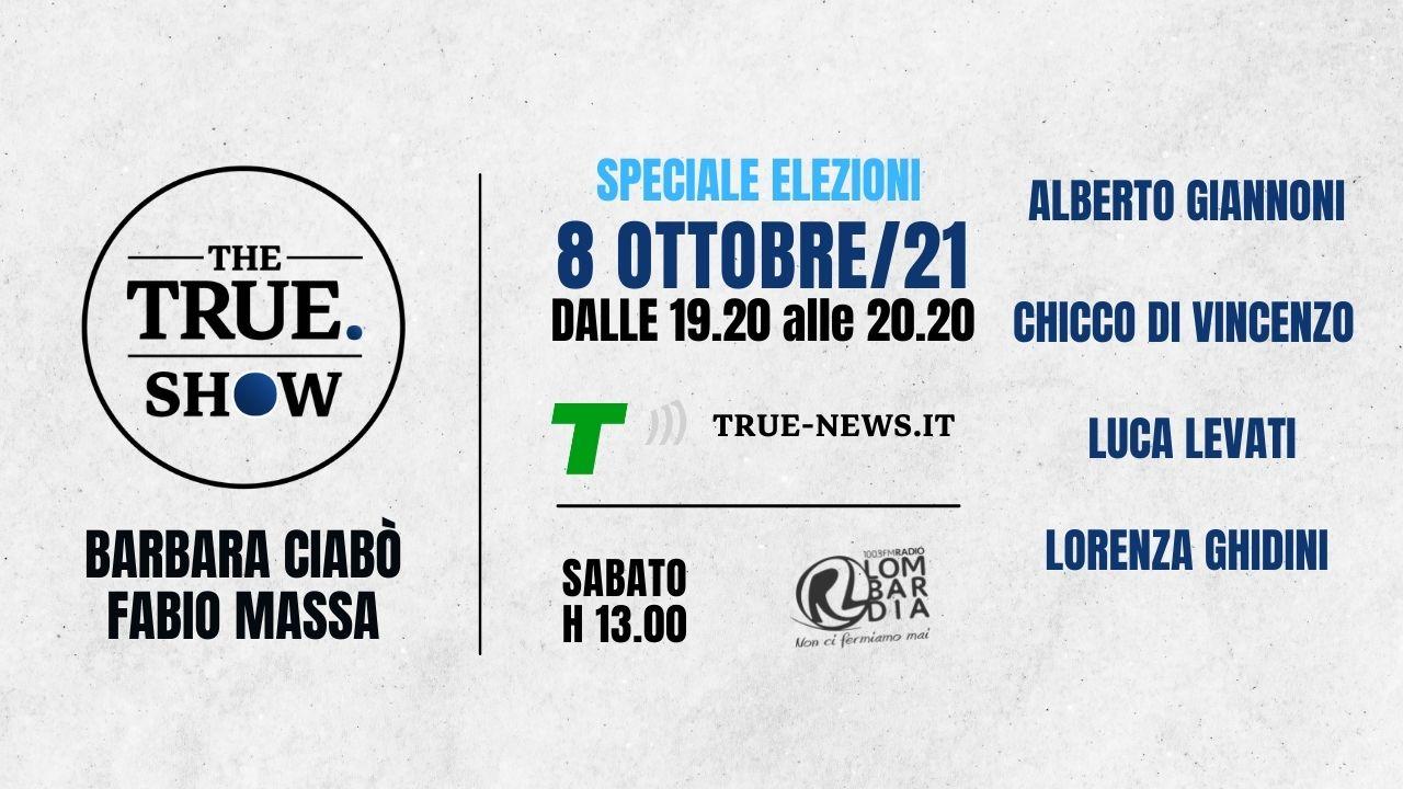 the true show 8 ottobre