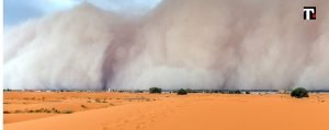 brasile tempesta sabbia