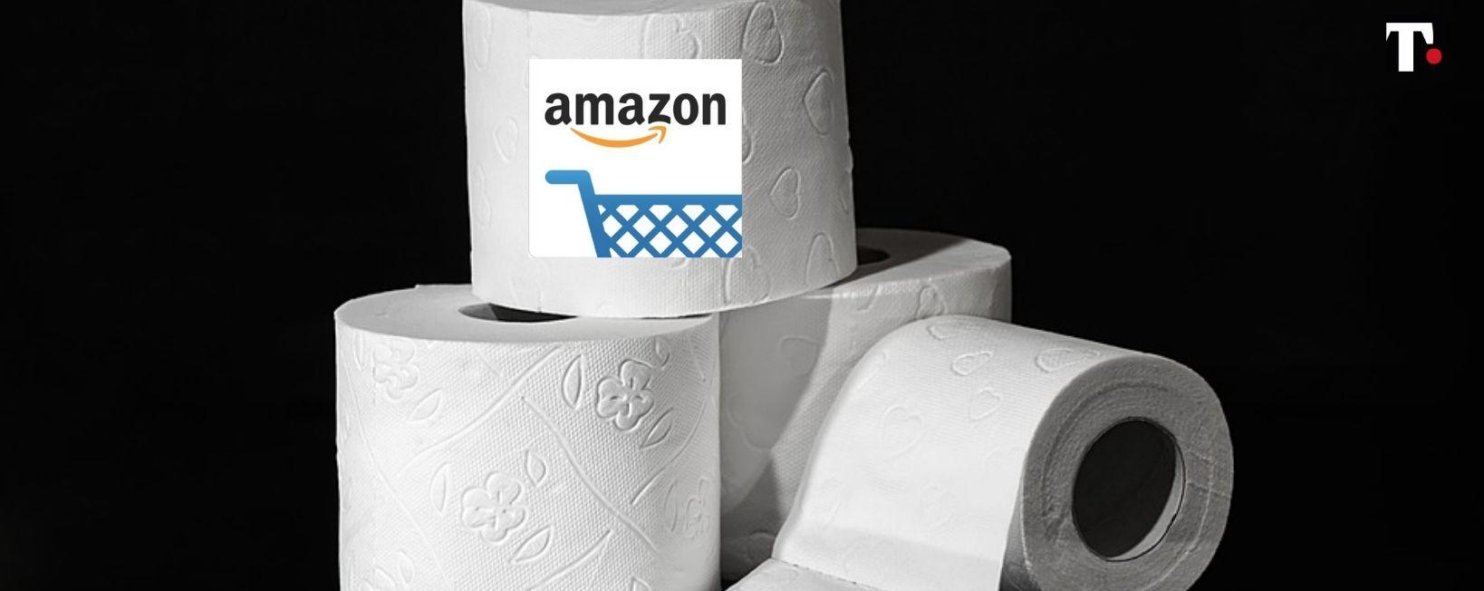 amazon carta igienica usata