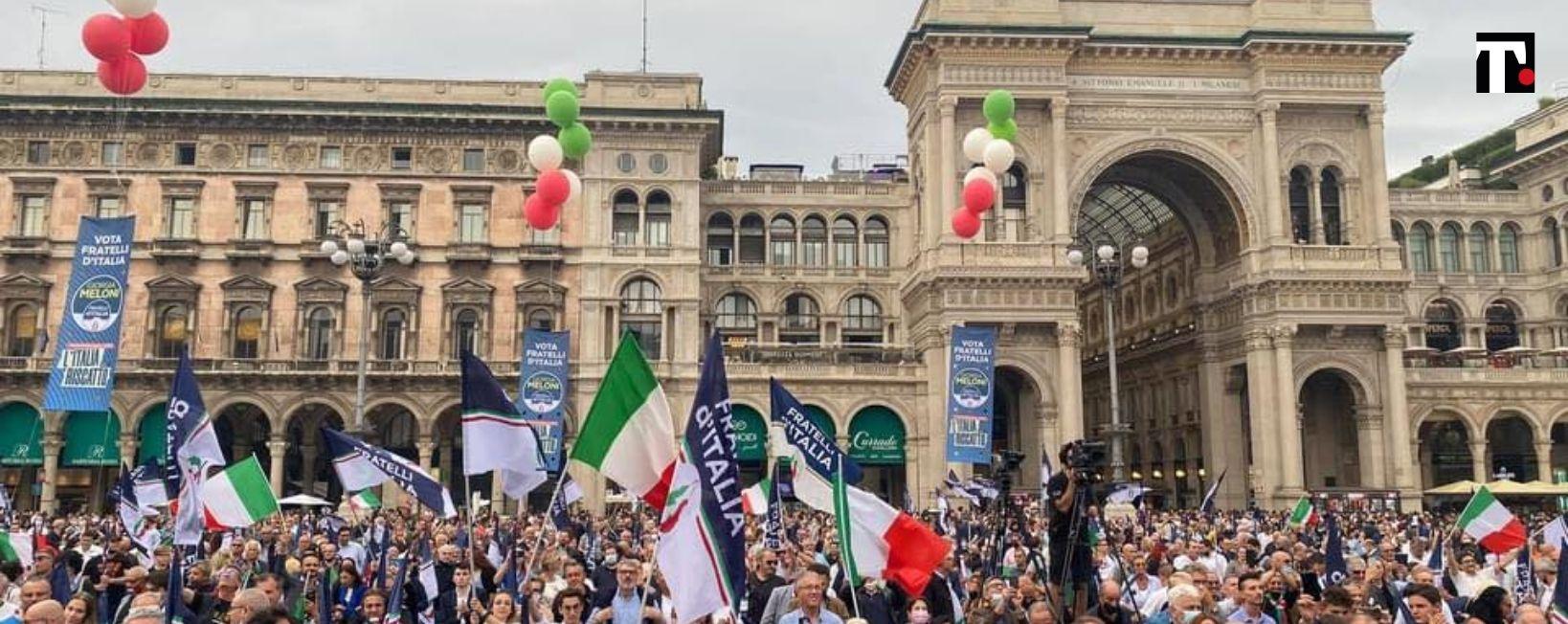 finanziamenti in nero fratelli d'italia
