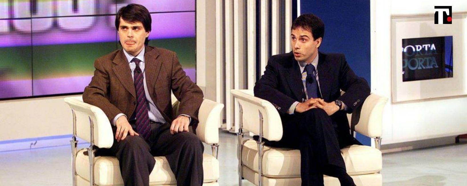 Giovanni Scattone e Salvatore Ferraro oggi