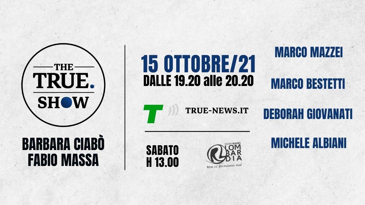 the true show 15 ottobre